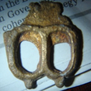 as cast spectacle buckle